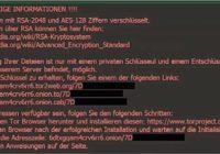 Si te aparece este mensaje en pantalla, te ha atacado el virus chantajista Locky. Por el momento, has perdido los datos de tu PC.