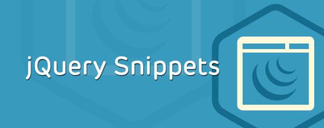 jQuery Snippet: Autocompletar ciudad basada en un código postal